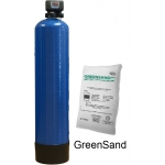 Iron and manganese remover with Greensand Plus media